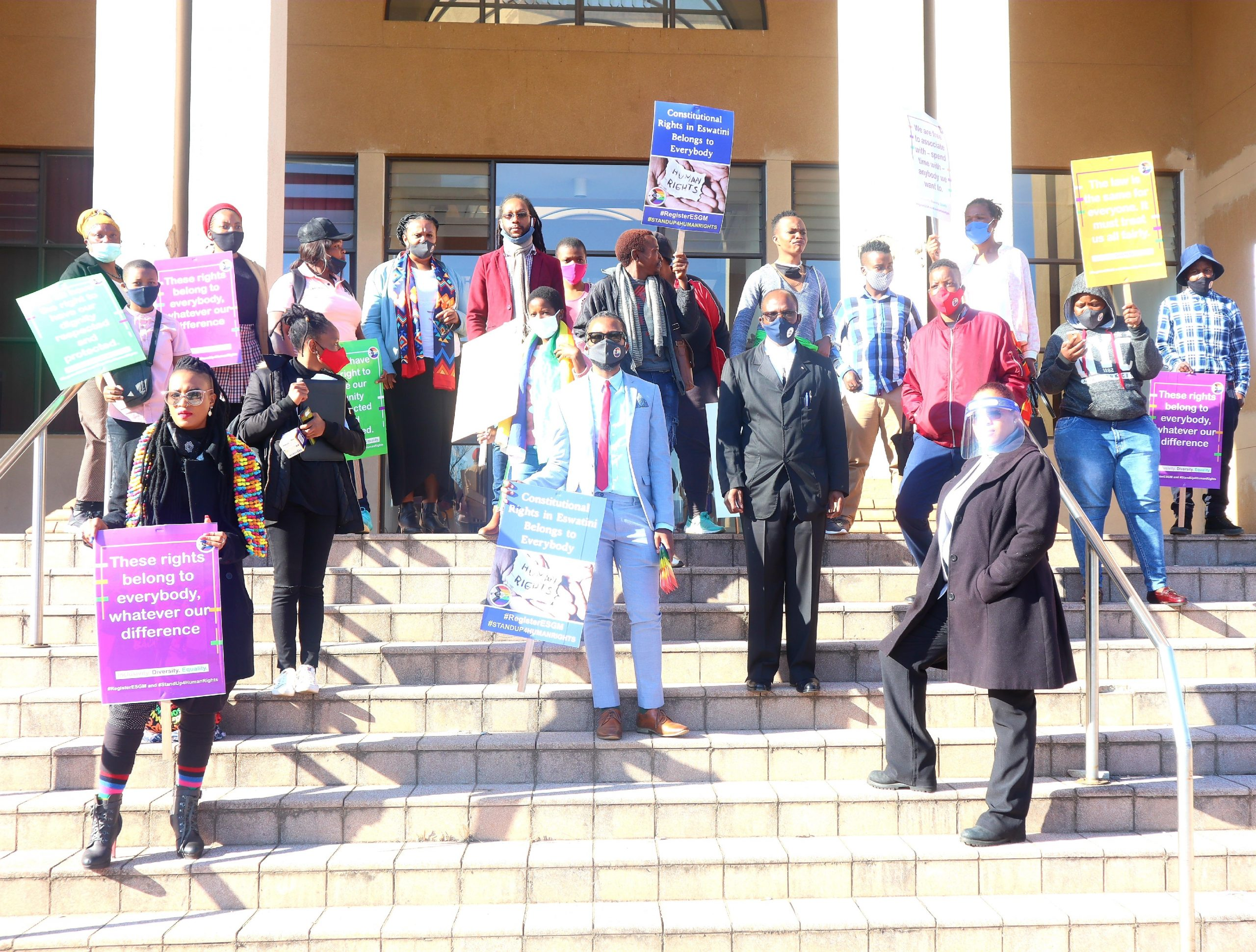 MEDIA ADVISORY: ESWATINI HIGH COURT POSTPONES CASE ON THE REFUSAL TO REGISTER AN LGBT ADVOCACY GROUP